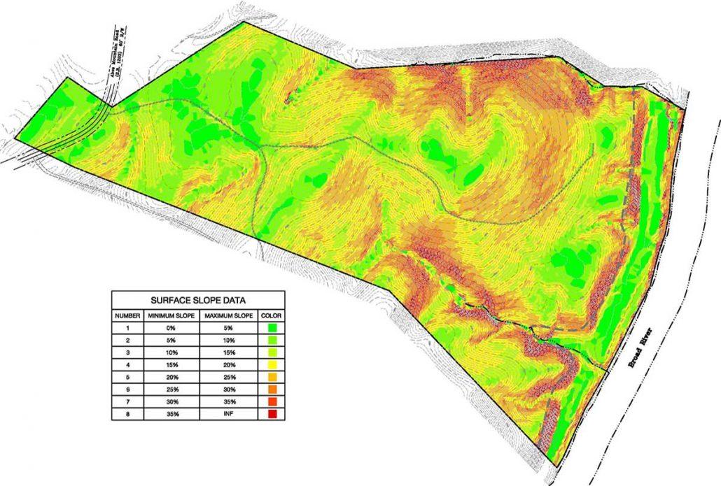 Crossroads Surface Slope Analysis Plan