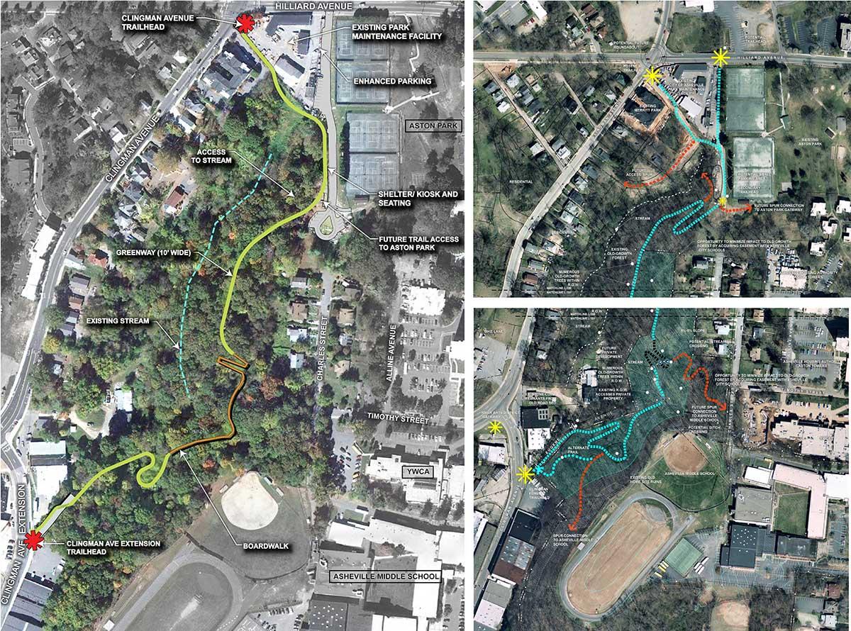 Clijngman Greenway Aerial Site