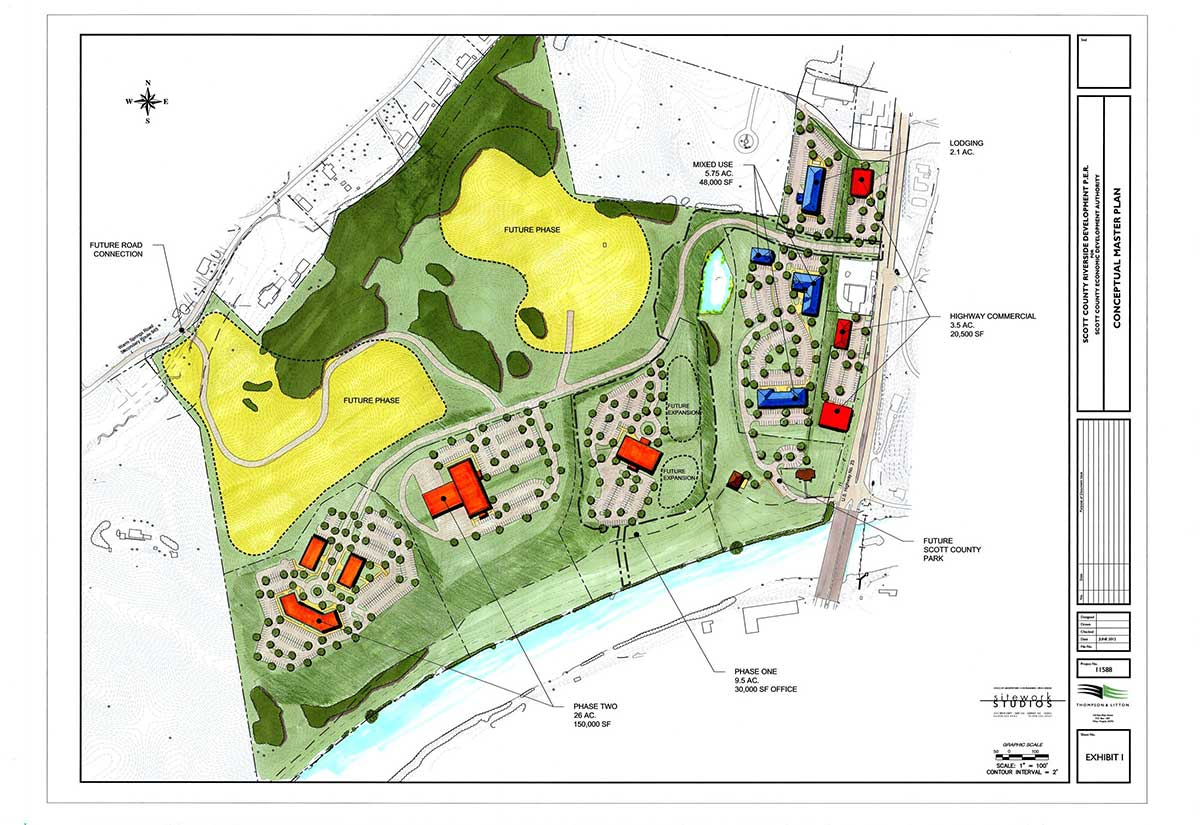 Riverside_Scott County Site Plan