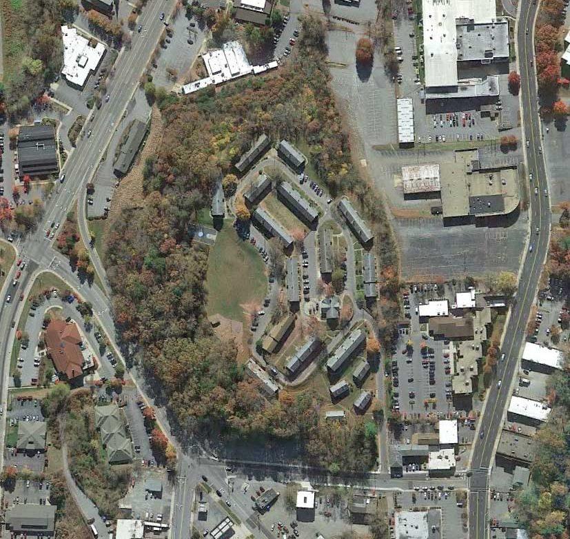 Lee Walker Heights Site Aerial